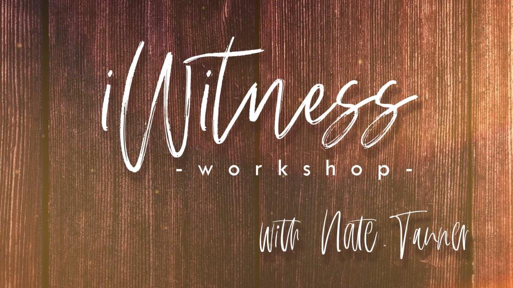 iWitness workshop - FB event