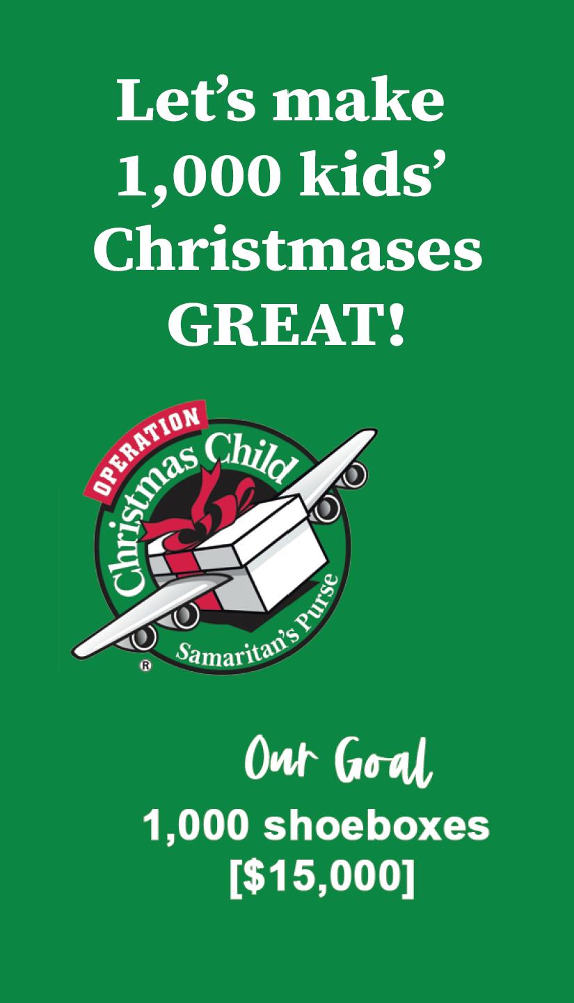 Lets make 1000 kids Christmases great